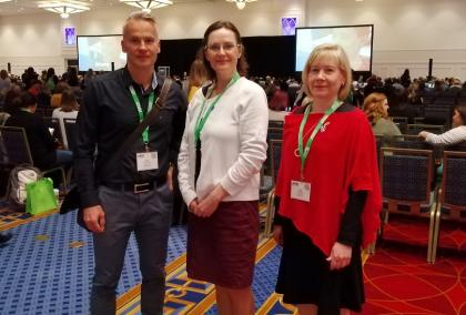 FLGS Travel Grantee at the ASCD Conference in Maryland