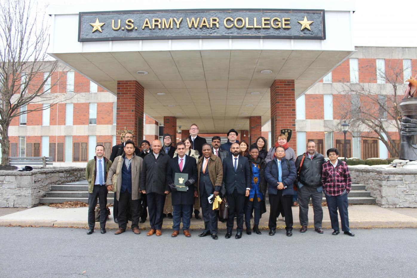 2019 Study of the U.S. Institute for Scholars on National Security Policy Making Participants at U.S. Army War College