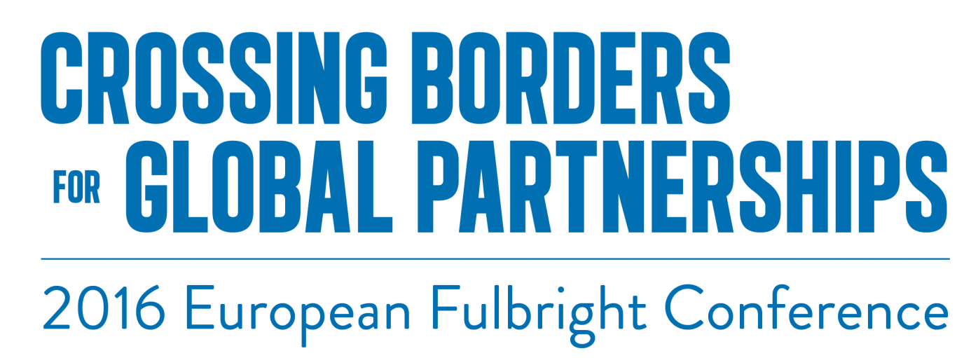 Blue Fulbright Conference 2016 logo