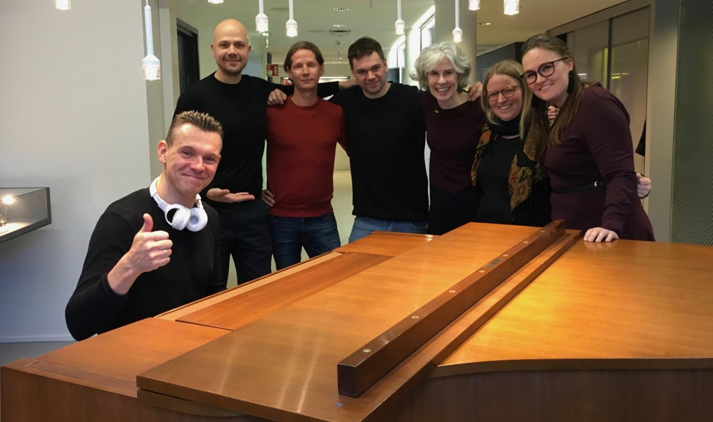 Future Songwriting team at Teosto, a non-profit founded for composers and music publishers.