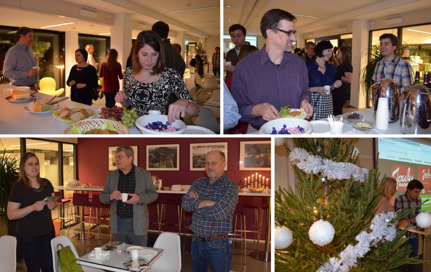 Picture Collague of 2014 ASLa-Fulbright Alumni Association Holiday Season Get-Together