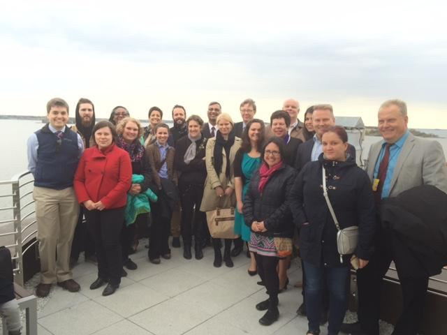 ASLA-Fulbright Alumni Association Innovation Center Visit at the U.S. Embassy 2015