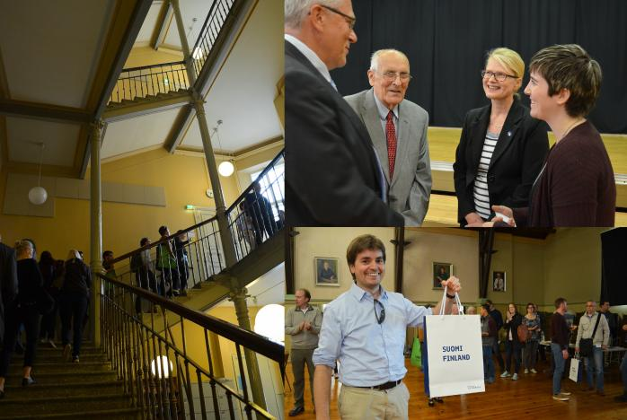 Collage of 2017 ASLA-Fulbright Alumni Association Welcome Event