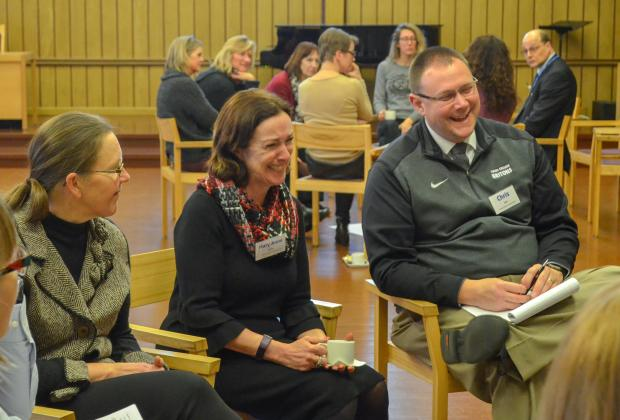 Fulbright Leaders for Global Schools Program Participants at the Seminarium Hall in Jyväskylä in March 2019
