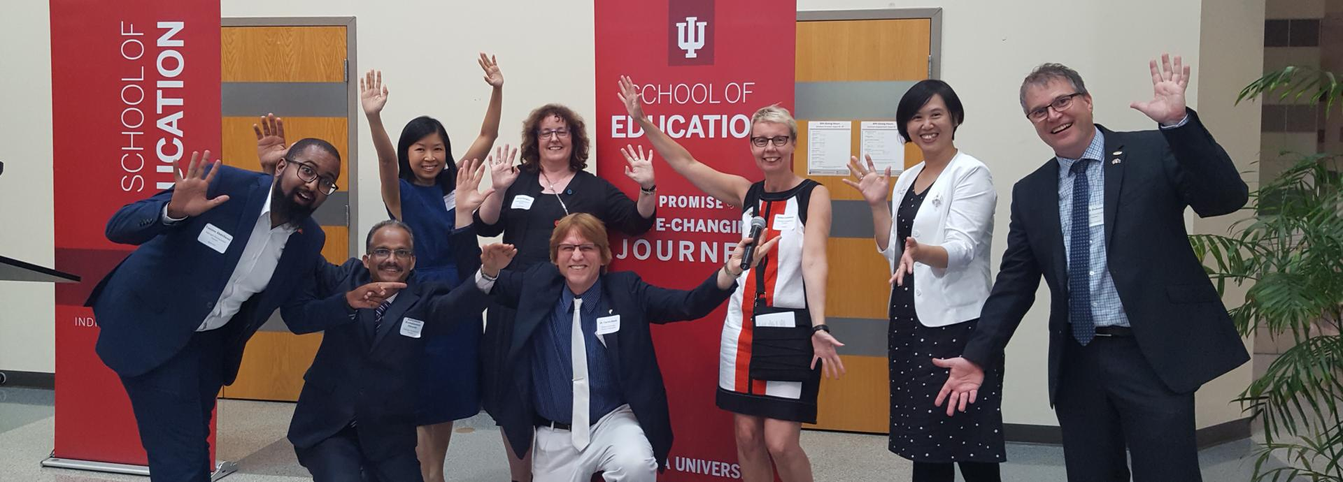 Fulbright Distinguished Awards in Teaching Grantees at Indiana University School of Education