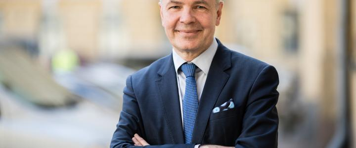 Minister for Foreign Affairs Pekka Haavisto