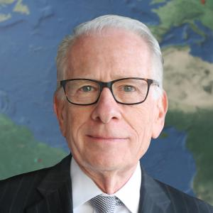 Headshot of IIE President and CEO Allan E. Goodman