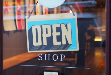 Picture of a open-sign